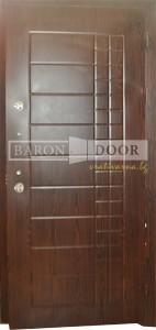 1001M BRN метална входна врата