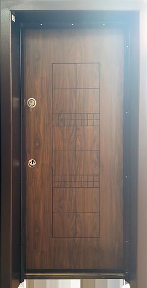 Входна врата BRN-L12 Врати от Ламиниран МДФ - нов модел