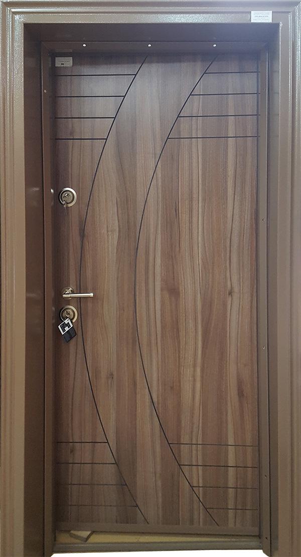Входна врата BRN-L14 Врати от Ламиниран МДФ