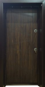 Входна врата BRN-L15 Врати от Ламиниран МДФ